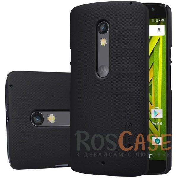 Матовый чехол для Motorola Moto X Play (XT1562) (+ пленка)Описание:бренд:&amp;nbsp;Nillkin;спроектирован для Motorola Moto X Play (XT1562);материал: поликарбонат;тип: накладка.Особенности:не скользит в руках благодаря рельефной поверхности;защищает от повреждений;прочный и долговечный;легко устанавливается и снимается;пленка для защиты экрана в комплекте.<br><br>Тип: Чехол<br>Бренд: Nillkin<br>Материал: Поликарбонат