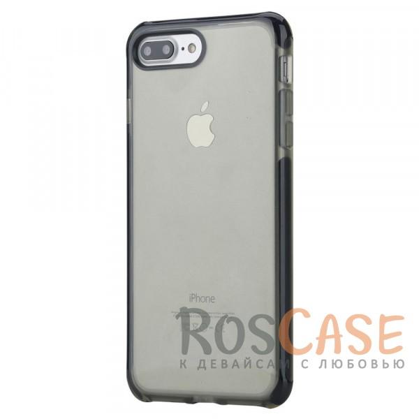 TPU+PC чехол Rock Guard Series для Apple iPhone 7 plus (5.5) (Черный / Transparent black)Описание:бренд&amp;nbsp;Rock;совместимость: Apple iPhone 7 plus (5.5);материал: термопластичный полиуретан и термоэластопласт;вид: накладка.&amp;nbsp;Особенности:ударопрочный;все функциональные вырезы предусмотрены;защита камеры от царапин;защита экрана благодаря наличию выступающих краев по его периметру;<br><br>Тип: Чехол<br>Бренд: ROCK<br>Материал: TPU