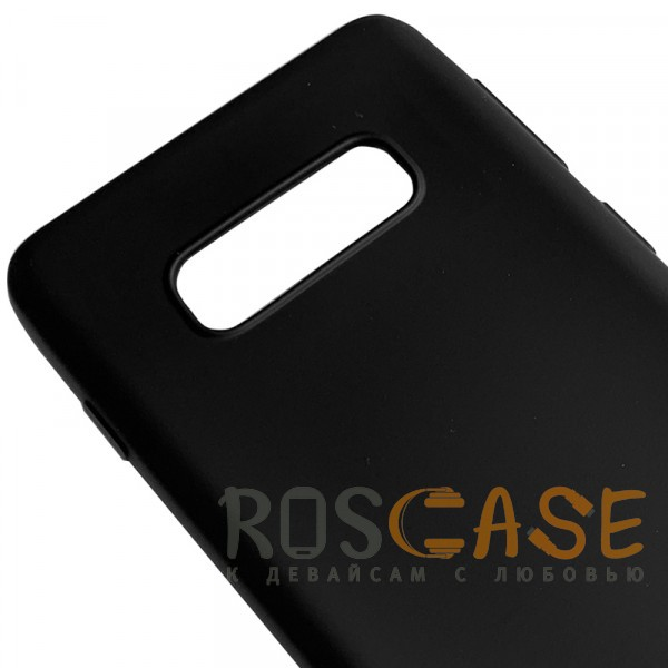 Фотография Черный J-Case THIN | Гибкий силиконовый чехол для Samsung Galaxy S10e