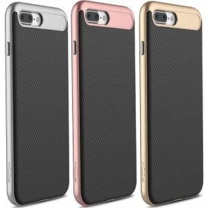 Rock Vision | Тонкий чехол для iPhone 7 Plus с карбоновой вставкой