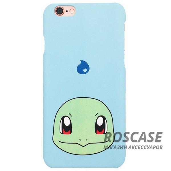Ультратонкий цветной TPU чехол Pokemon Go для Apple iPhone 6/6s (4.7) (Squirtle)Описание:разработан для&amp;nbsp;Apple iPhone 6/6s (4.7);материал: термопластичный полиуретан;форма: накладка.&amp;nbsp;Особенности:ультратонкий дизайн;оригинальный принт (покемоны);эластичный и гибкий;плотное прилегание;полный набор функциональных вырезов.<br><br>Тип: Чехол<br>Бренд: Epik<br>Материал: TPU