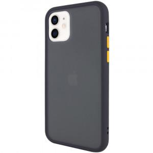 Противоударный матовый полупрозрачный чехол  для iPhone 12 Mini