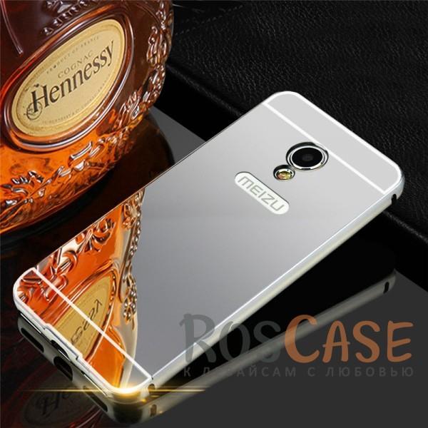 Защитный металлический бампер с зеркальной вставкой для Meizu M5s (Серебряный)Описание:разработан для Meizu M5s;материалы - металл, акрил;тип - бампер с задней панелью;зеркальная поверхность;защита задней панели и боковых граней;предусмотрены все вырезы;элегантный дизайн.<br><br>Тип: Чехол<br>Бренд: Epik<br>Материал: Металл