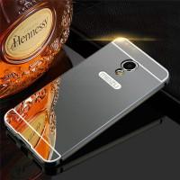 Металлический бампер для Meizu M5s с зеркальной вставкой