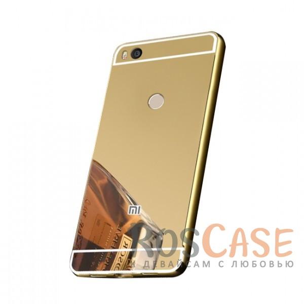 Защитный металлический бампер с зеркальной вставкой для Xiaomi Mi Max 2 (Золотой)Описание:разработан для Xiaomi Mi Max 2;материалы - металл, акрил;тип - бампер с задней панелью;зеркальная поверхность;металлический бампер;защита от царапин и ударов.<br><br>Тип: Чехол<br>Бренд: Epik<br>Материал: Металл
