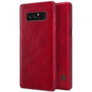 Nillkin Qin натур. кожа | Чехол-книжка для Samsung Galaxy Note 8