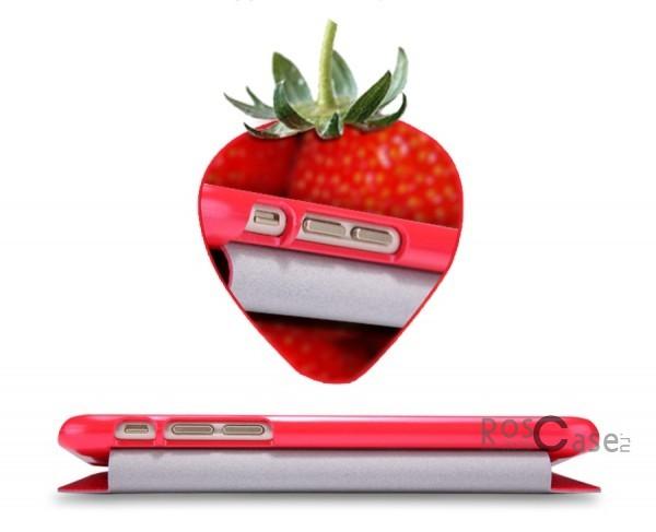Кожаный чехол (книжка) Nillkin Fresh Series для Apple iPhone 6/6s (4.7)  (Красный)Описание:Изготовлен компанией&amp;nbsp;Nillkin;Спроектирован персонально для Apple iPhone 6/6s (4.7);Материал: синтетическая высококачественная кожа и полиуретан;Форма: чехол в виде книжки.Особенности:Исключается появление царапин и возникновение потертостей;Восхитительная амортизация при любом ударе;Фактурная поверхность;Магнитная застежка;Не подвержен деформации;Непритязателен в уходе.<br><br>Тип: Чехол<br>Бренд: Nillkin<br>Материал: Искусственная кожа