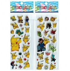 Набор объемных наклеек Pokémon