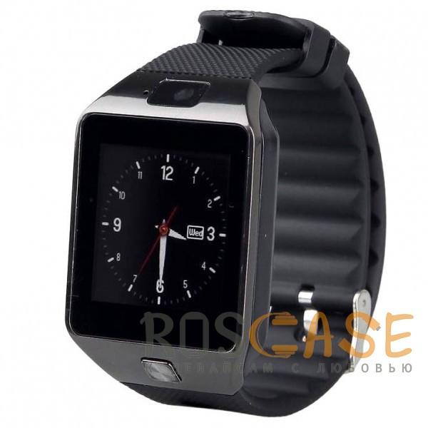 Фото Черный Умные часы Smart Watch UWatch DZ09