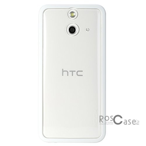 фотография Белый / White TPU+PC чехол Rock Enchanting Series для HTC One / E8