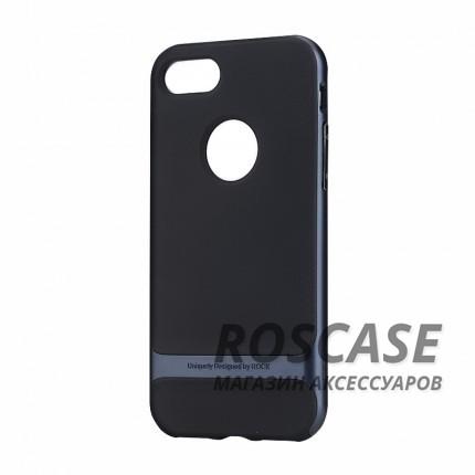 TPU+PC чехол Rock Royce Series для Apple iPhone 7 plus (5.5) (Черный / Синий)Описание:производитель  - &amp;nbsp;Rock;совместимость - Apple iPhone 7 plus (5.5);материалы  -  термополиуретан, поликарбонат;тип  -  накладка.&amp;nbsp;Особенности:амортизирует удары;имеет все необходимые вырезы;оригинальный дизайн;не увеличивает габариты;защищает от царапин и потертостей;износостойкий.<br><br>Тип: Чехол<br>Бренд: ROCK<br>Материал: TPU