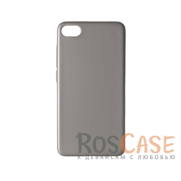 Пластиковая накладка soft-touch с защитой торцов Joyroom для Meizu U10 (Серебряный)<br><br>Тип: Чехол<br>Бренд: Epik<br>Материал: Пластик