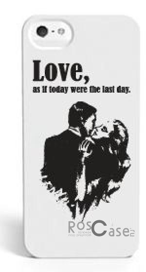 Накладка SleekOn Photochromic Series Влюблённая парочка True Love для Apple iPhone 5