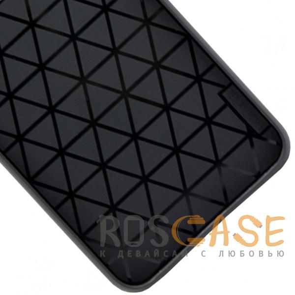 Изображение Красный ILEVEL | Чехол с кожаным покрытием и с карманом-визитницей для Huawei P20 Lite