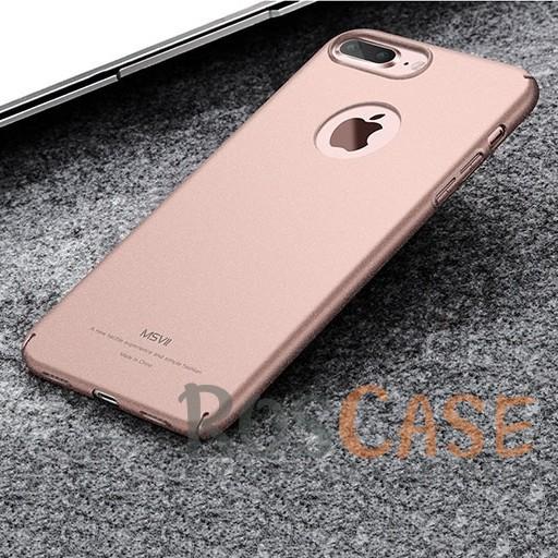 Пластиковый чехол Msvii Quicksand series для Apple iPhone 7 plus (5.5) (Розовый)Описание:производитель - Msvii;совместим с Apple iPhone 7 plus (5.5);материал  -  пластик;тип  -  накладка.&amp;nbsp;Особенности:матовая поверхность;имеет все разъемы;тонкий дизайн не увеличивает габариты;накладка не скользит;защищает от ударов и царапин;износостойкая.<br><br>Тип: Чехол<br>Бренд: Epik<br>Материал: Пластик