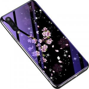 TPU+Glass чехол Fantasy с глянцевыми торцами  для Samsung Galaxy A50 (A505F)