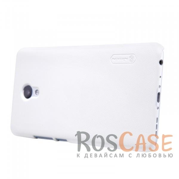 Изображение Белый Nillkin Super Frosted Shield   Матовый чехол для Meizu M5 Note (+ пленка)