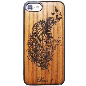 Buddy | Чехол с деревянной вставкой ручной работы  для iPhone 8
