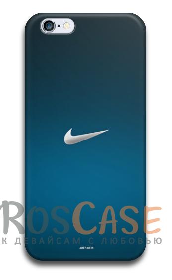 "Фото Пластиковый чехол RosCase ""Nike"" для iPhone 4/4S"