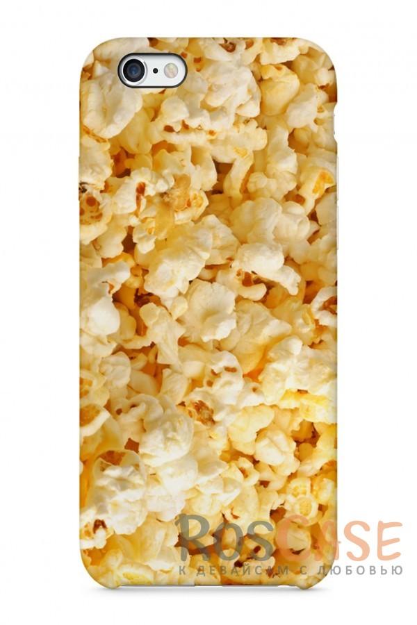 "Фото Попкорн Пластиковый чехол RosCase ""Еда"" для iPhone 6/6s (4.7"")"