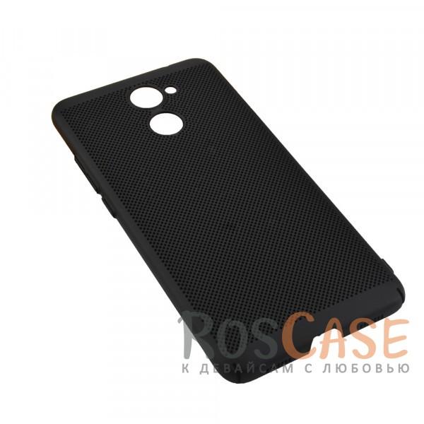 Пластиковый перфорированный чехол-накладка MOFI Air Series с защитой от перегрева для Huawei Y7 Prime (Черный)Описание:бренд - Mofi;материал - пластик;совместимость - Huawei Y7 Prime;перфорированная поверхность;защита от перегрева;предусмотрены все функциональные вырезы;не скользит в руках;формат - накладка.<br><br>Тип: Чехол<br>Бренд: Mofi<br>Материал: Пластик