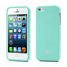 фото TPU чехол Mercury Jelly Color series для Apple iPhone 5/5S/SE