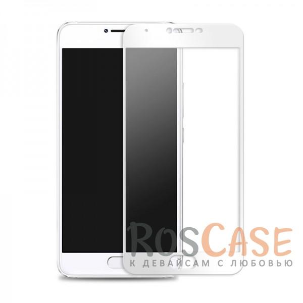 Защитное стекло CaseGuru Tempered Glass на весь экран для Meizu U10 (Белый)<br><br>Тип: Защитное стекло<br>Бренд: CaseGuru