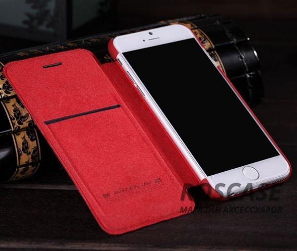 изображение кожаный чехол (книжка) Nillkin Qin Series для Apple iPhone 6/6s (4.7
