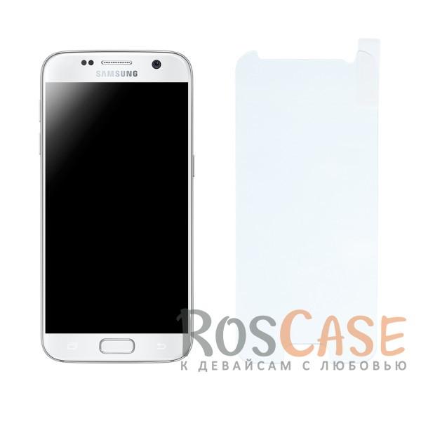 Защитное стекло Ultra Tempered Glass 0.33mm (H+) для Samsung G930F Galaxy S7 (карт. уп-вка)Описание:компания:&amp;nbsp;Epik;создано для Samsung G930F Galaxy S7;материал: закаленное стекло;тип: защитное стекло.&amp;nbsp;Особенности:имеются все функциональные вырезы;фильтрует ультрафиолет;не влияет на чувствительность сенсора;легко очищается;толщина - &amp;nbsp;0,33 мм;высокая прочность;защита от царапин;из-за особенностей экрана смартфона стекло закрывает дисплей не полностью.<br><br>Тип: Защитное стекло<br>Бренд: Epik