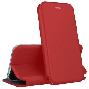 Open Color | Кожаный чехол-книжка для Huawei Nova 5 / Nova 5 Pro с функцией подставки и магнитом