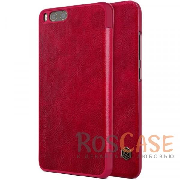 Чехол-книжка из натуральной кожи для Xiaomi Mi 6 (Красный)Описание:бренд&amp;nbsp;Nillkin;разработан для Xiaomi Mi 6;материалы: натуральная кожа, поликарбонат;защищает гаджет со всех сторон;на аксессуаре не заметны отпечатки пальцев;карман для визиток и пластиковых карт;предусмотрены все необходимые функциональные вырезы;тонкий дизайн не увеличивает габариты девайса;тип: чехол-книжка.<br><br>Тип: Чехол<br>Бренд: Nillkin<br>Материал: Натуральная кожа
