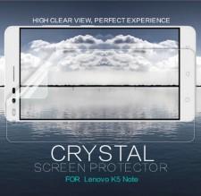 Nillkin Crystal | Прозрачная защитная пленка для Lenovo K5 Note / K5 Note Pro
