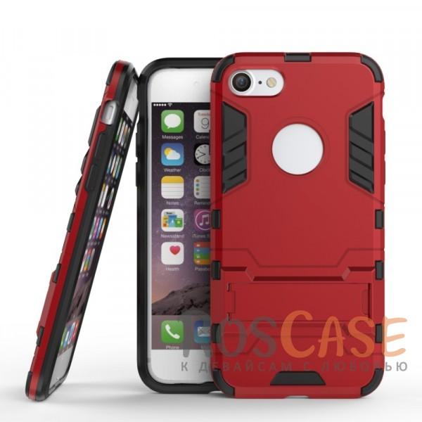Transformer | Противоударный чехол для Apple iPhone 7 / 8 (4.7) с мощной защитой корпуса (Красный / Dante Red)Описание:подходит для Apple iPhone 7 / 8 (4.7);материалы: термополиуретан, поликарбонат;формат: накладка.&amp;nbsp;Особенности:функциональные вырезы;функция подставки;двойная степень защиты;защита от механических повреждений;не скользит в руках.<br><br>Тип: Чехол<br>Бренд: Epik<br>Материал: TPU
