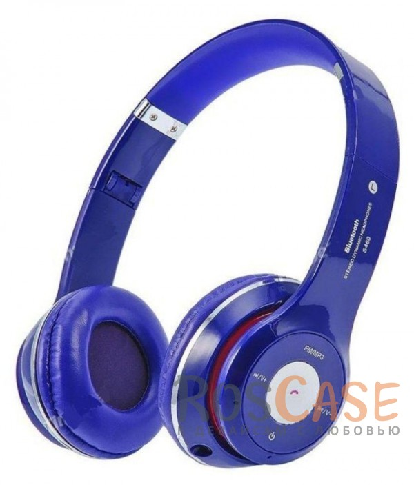 Беспроводные наушники Bluetooth с микрофоном и разъемом для карты памяти (Синий)Описание:тип: беспроводные наушники;материал: пластик;версия&amp;nbsp;Bluetooth 3.0 + EDR;эргономичный дизайн;встроенный FM декодер;слот для карты&amp;nbsp;microSD;микрофон и пульт управления;аккумулятор: 350 mAh;частотный диапазон: 20-20 000 Гц;сопротивление динамиков: 32ohm;комплектация: беспроводные наушники TM-012S, кабель зарядки USB - miniUSB, кабель MiniJack ? MiniJack.<br><br>Тип: Наушники/Гарнитуры<br>Бренд: Epik