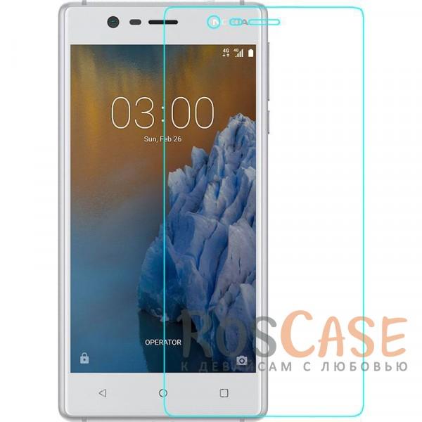 Тонкое гладкое защитное стекло Mocolo с олеофобным покрытием для Nokia 3 (Прозрачное)Описание:производитель - Mocolo;разработано для Nokia 3;защита экрана от ударов и царапин;олеофобное покрытие анти-отпечатки;ультратонкое;высокая прочность 9H;не разлетается на кусочки при разбивании;закругленные срезы 2,5D;устанавливается за счет силиконового слоя.<br><br>Тип: Защитное стекло<br>Бренд: Mocolo