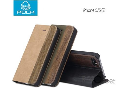 фото чехла ROCK Woody Series для Apple iPhone 5/5S/5SE