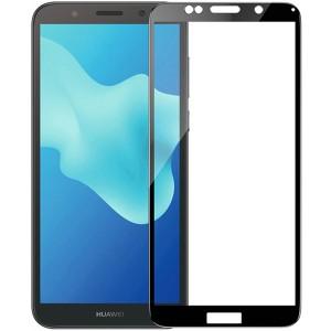 Защитное стекло 2.5D CP+ с полной проклейкой для Huawei Y5 (2018) / Y5 Prime (2018)