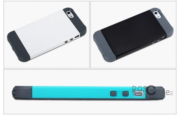 Фото пластикового чехла Rock Shield series для Apple iPhone 5 / 5S