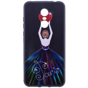 Magic Girl Matte | Чехол с элегантным принтом и стразами для Xiaomi Redmi 5 Plus