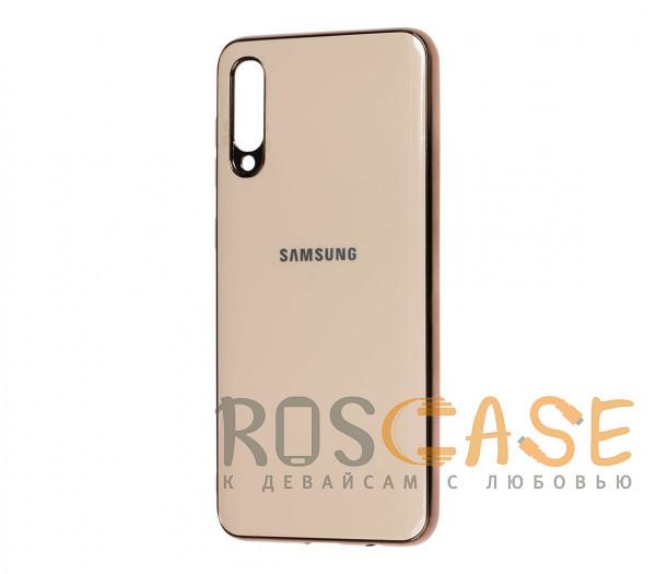 Фото Золотой TPU чехол GLOSSY LOGO для Samsung Galaxy A50 (A505F) / A50s / A30s