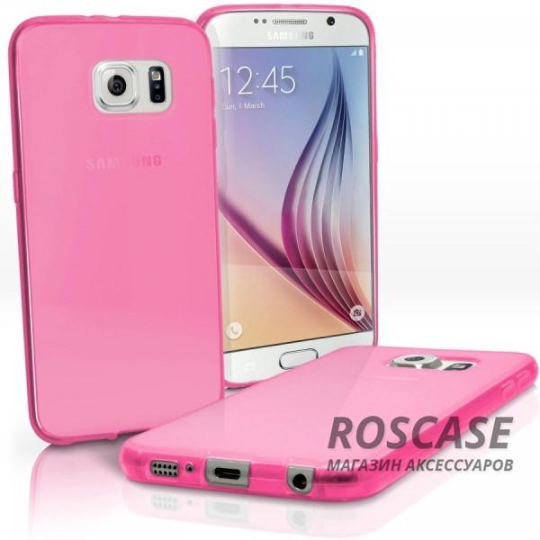 TPU чехол для Samsung Galaxy S6 G920F/G920D Duos (Розовый (Soft touch))Описание:производитель - бренд&amp;nbsp;Epik;совместим с Samsung Galaxy S6 G920F/G920D Duos;материал: термополиуретан;тип: накладка.Особенности:тонкий дизайн;легкая фиксация;защита от царапин;эластичный;не деформируется.<br><br>Тип: Чехол<br>Бренд: Epik<br>Материал: TPU
