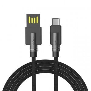 GOLF GC-54t | Дата-кабель Type-C в тканевой оплетке (100 см) для Samsung Galaxy S8 (G950)