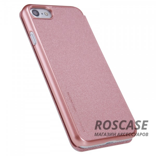 "Фото Розовый / Rose Gold Nillkin Sparkle | Чехол-книжка для Apple iPhone 7 / 8 (4.7"")"