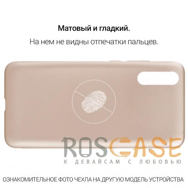 Фото Золотой J-Case THIN | Гибкий силиконовый чехол для Huawei P20 Lite
