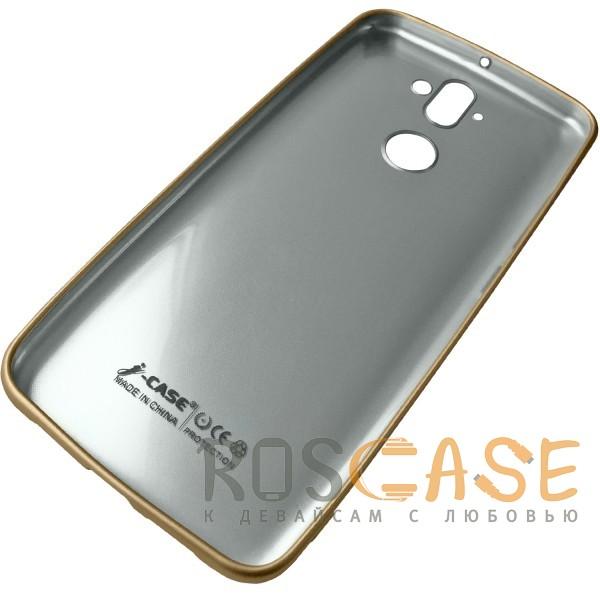 Фотография Золотой J-Case THIN | Гибкий силиконовый чехол для Nokia 8 Sirocco