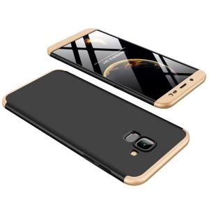 GKK LikGus 360° | Двухсторонний чехол для Samsung J600F Galaxy J6 (2018) с защитными вставками
