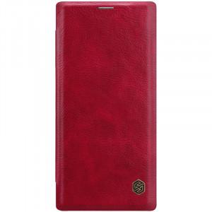 Nillkin Qin натур. кожа | Чехол-книжка для Samsung Galaxy Note 10 Plus