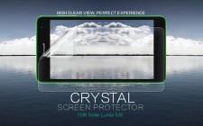 Nillkin Crystal | Прозрачная защитная пленка для Microsoft Lumia 535