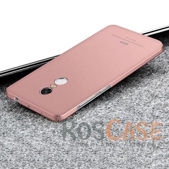 Пластиковый чехол Msvii Quicksand series для Xiaomi Redmi Note 4 (Розовый)Описание:производитель - Msvii;совместим с Xiaomi Redmi Note 4;материал  -  пластик;тип  -  накладка.&amp;nbsp;Особенности:матовая поверхность;имеет все разъемы;тонкий дизайн не увеличивает габариты;накладка не скользит;защищает от ударов и царапин;износостойкая.<br><br>Тип: Чехол<br>Бренд: Epik<br>Материал: TPU