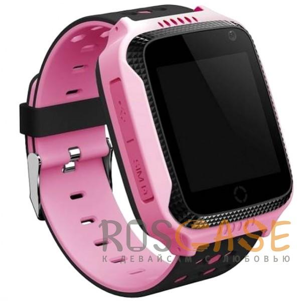 Фото Розовый Умные детские часы Smart Baby Watch T7